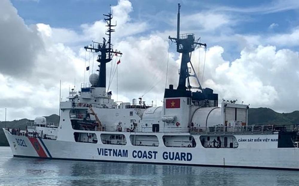 Tàu Cảnh sát biển CSB 8021 Mỹ chuyển giao cho Việt Nam đã cập cảng an toàn