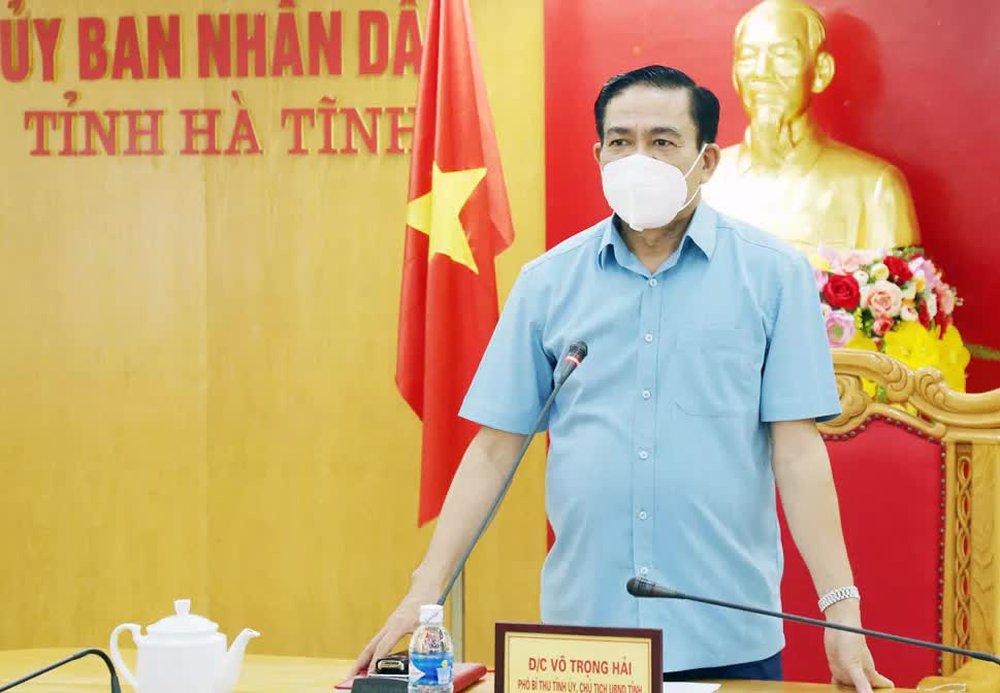 Chủ tịch UBND tỉnh Hà Tĩnh Võ Trọng Hải nói về việc vợ chồng ca sĩ Thủy Tiên phân phối hàng cứu trợ - Ảnh 1.
