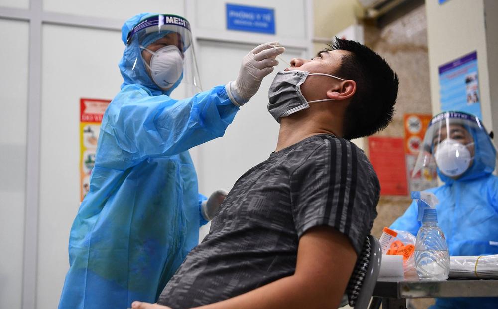 Hà Nội: Phát hiện thêm 9 ca dương tính SARS-CoV-2 ở 7 quận huyện