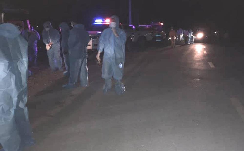 Phát hiện người đàn ông chạy xe từ Bình Dương về Nghệ An nhiễm SARS-CoV-2