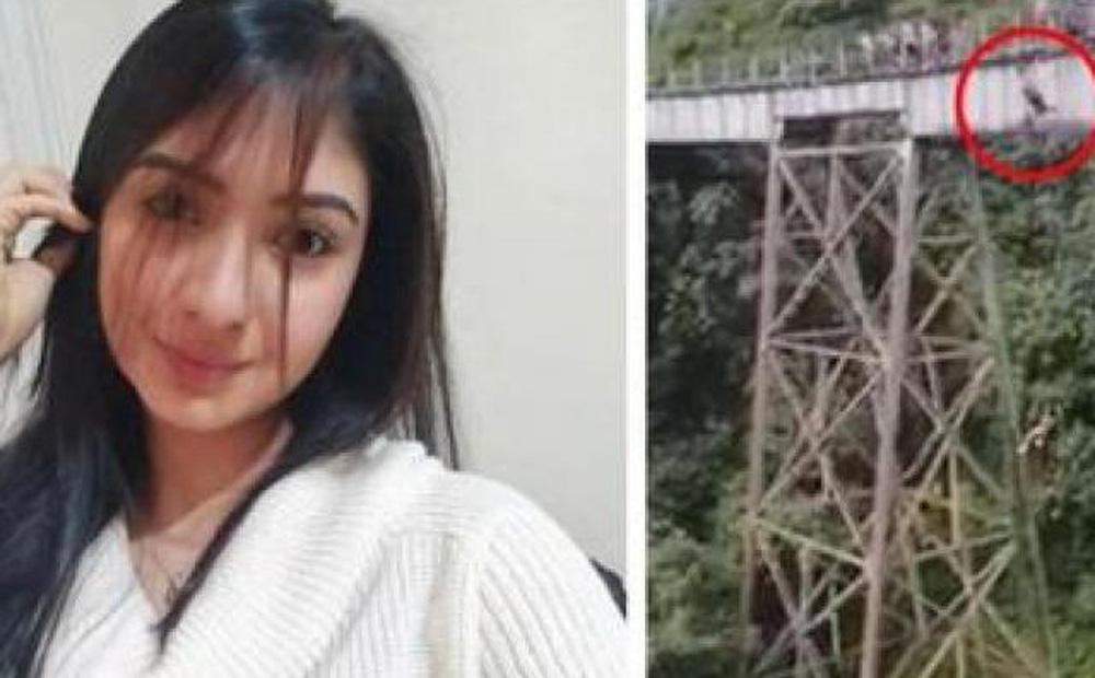 Colombia: Khoảnh khắc cô gái lao thẳng từ trên cầu cao xuống đất vì sai lầm chết người
