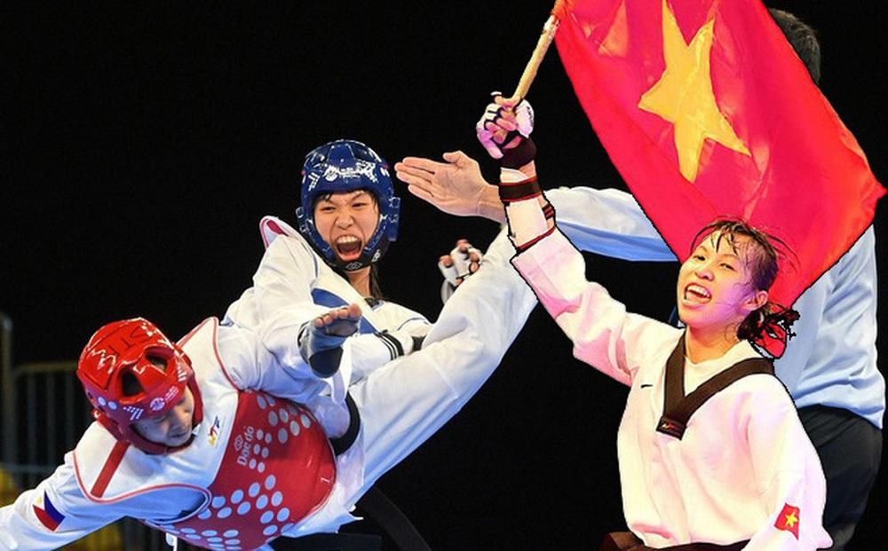Áp đảo toàn diện đối thủ, võ sĩ Việt Nam lọt vào tứ kết Olympic
