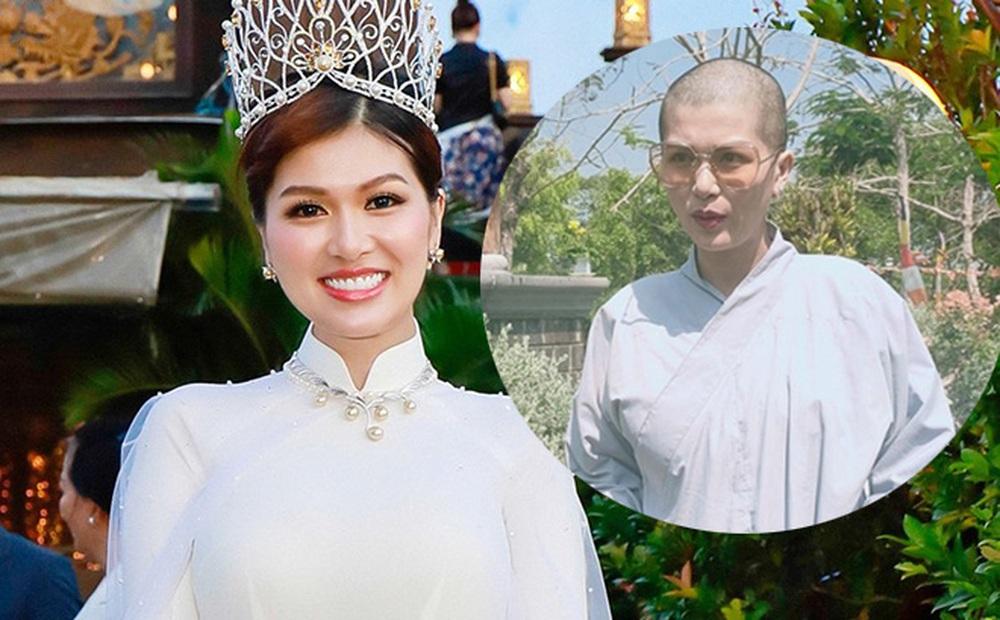 Hoa hậu đông con nhất Việt Nam, từng gây xôn xao khi cạo trọc đầu giờ ra sao?