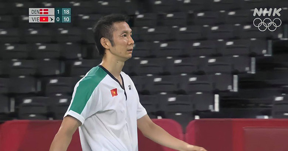 Tiến Minh chật vật đấu tay vợt số ba thế giới, nhận tin không vui ở lần thứ tư dự Olympic - Ảnh 3.