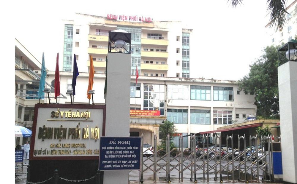 Bệnh viện Phổi Hà Nội phát hiện 9 ca dương tính SARS-CoV-2, tạm dừng tiếp nhận bệnh nhân