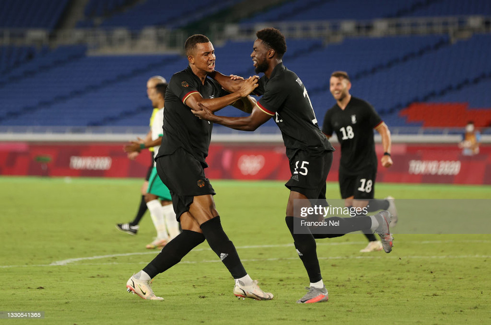 Đội bóng châu Á làm Olympic Đức toát mồ hôi hột, suýt tạo bất ngờ ở trận cầu 5 bàn thắng - Ảnh 1.