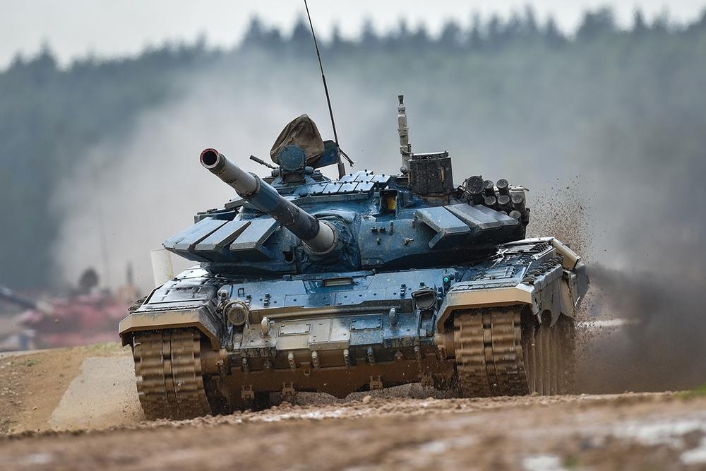Xe tăng hàng thửa: Vũ khí bá đạo tại Tank Biathlon 2021 - Ảnh 5.