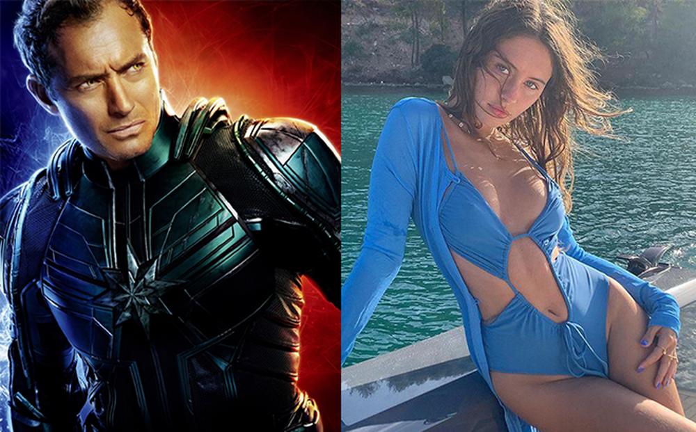 """Cô con gái nóng bỏng, nổi loạn của tài tử """"Captain Marvel"""""""