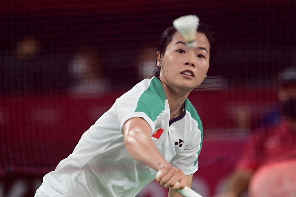 Hot girl cầu lông Việt Nam tạo bất ngờ nhỏ, suýt thắng 1 séc trước đối thủ số một thế giới - Ảnh 2.