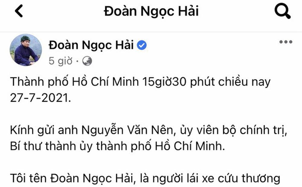 TP HCM: Quận 3 phản bác thông tin ông Đoàn Ngọc Hải phản ánh trên Facebook