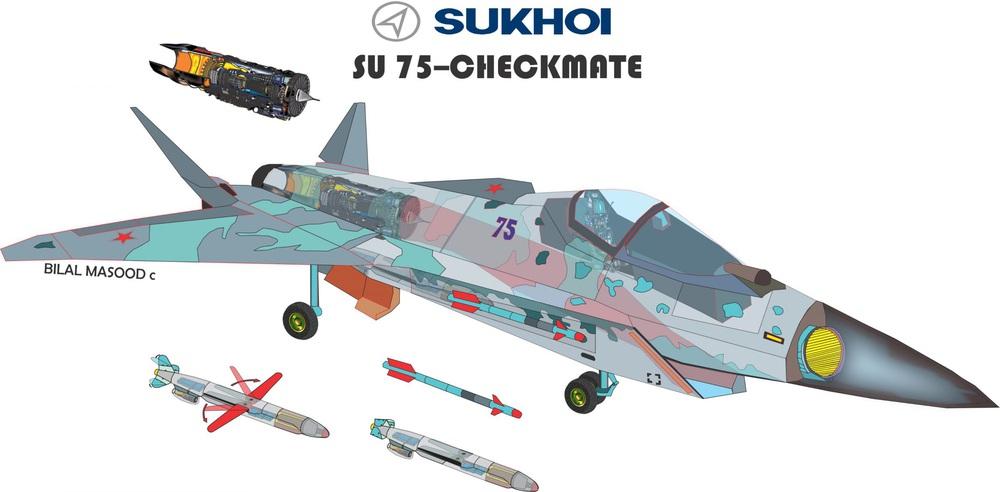 KQVN loại biên MiG-21: Quyết định vô cùng dũng cảm - Lột xác ngoạn mục bằng Su-75 Nga? - Ảnh 4.