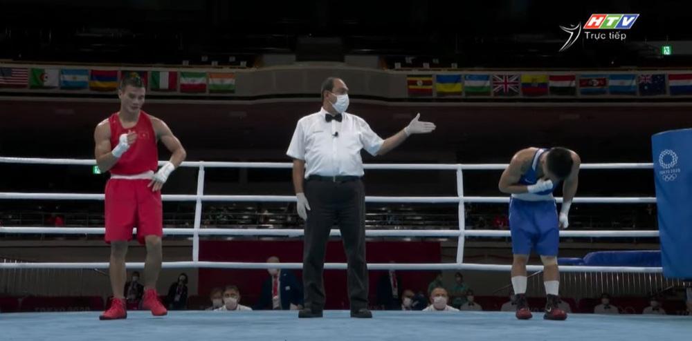 Võ sĩ Việt Nam thua tâm phục cao thủ Mông Cổ, khép lại hành trình kỳ diệu tại Olympic - Ảnh 3.
