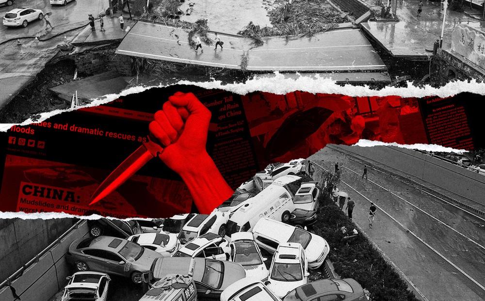 FCCC: Hàng loạt phóng viên bị dọa giết vì đưa tin lũ lụt Trung Quốc