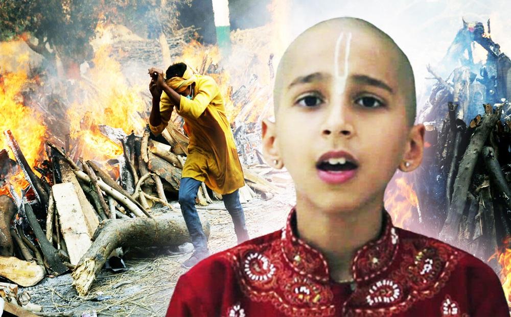 """""""Thần đồng tiên tri Ấn Độ"""" gây sốc bằng tuyên bố phản khoa học: """"Vaccine Covid kích nổ nghiệp chướng của nhân loại"""""""
