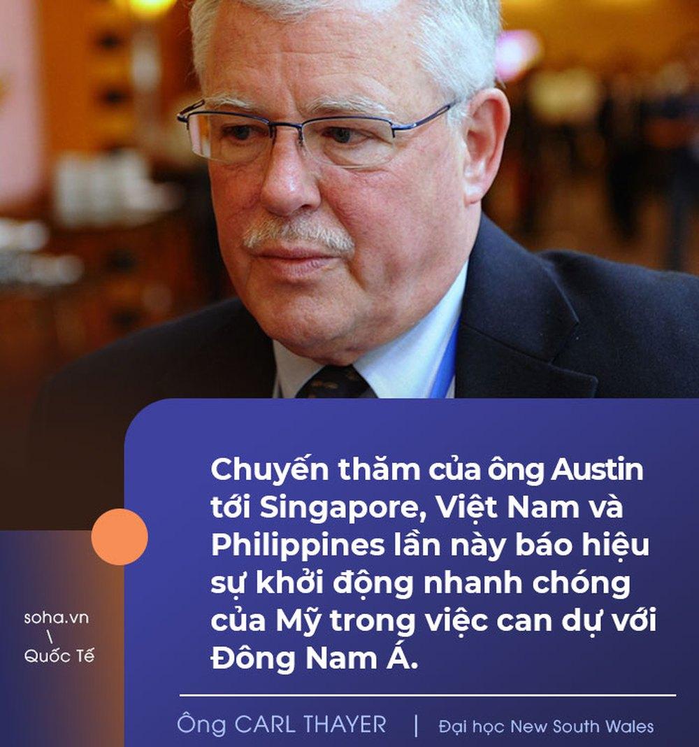 Bộ trưởng QP Mỹ đến Việt Nam, chuyên gia quốc tế nhận định: Hà Nội là một trong những đối tác có ý nghĩa chiến lược nhất của Washington ở ĐNÁ - Ảnh 3.