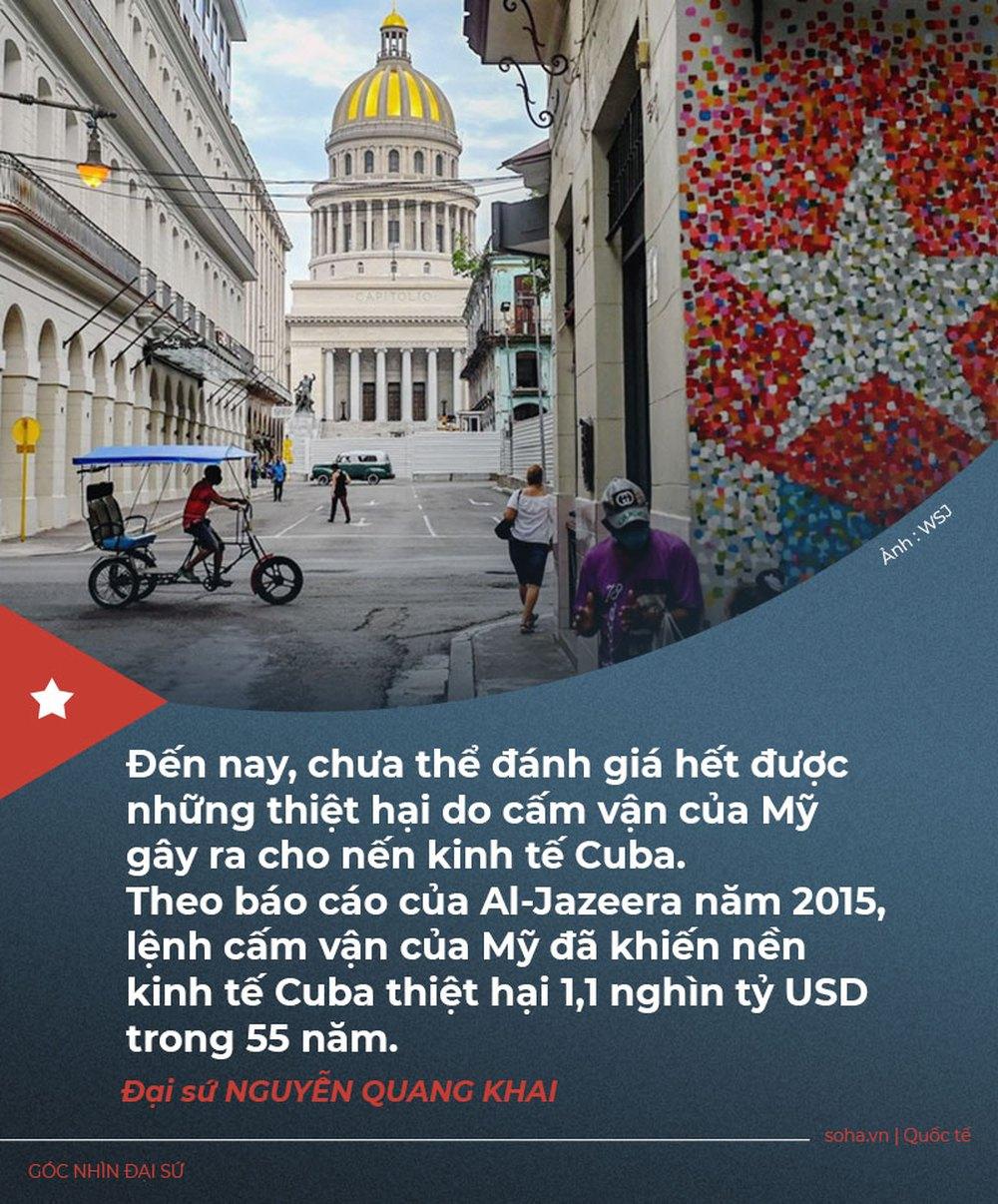 Mỹ-Cuba: Cuộc bao vây cấm vận khốc liệt nhất lịch sử hiện đại và thiệt hại nghìn tỷ đô của Hòn đảo Tự do - Ảnh 5.