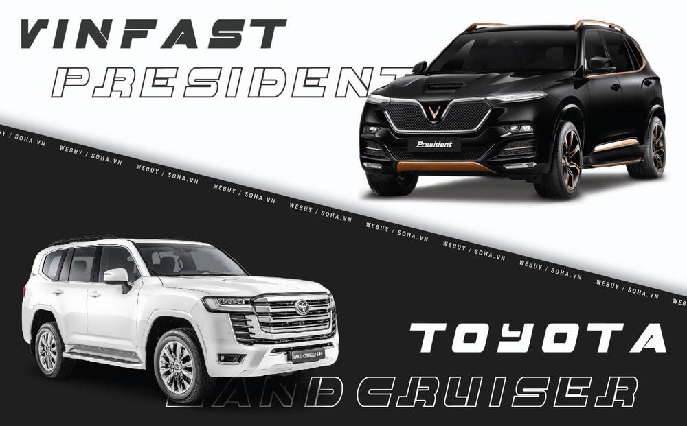 VinFast President 1 tuổi đã bật mạnh, Toyota Land Cruiser 'già' 71 tuổi thì sao?