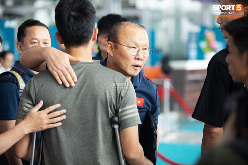 Học trò nói thắng tuyển Trung Quốc, HLV Park: Hãy nói những việc bản thân làm được thôi - Ảnh 1.