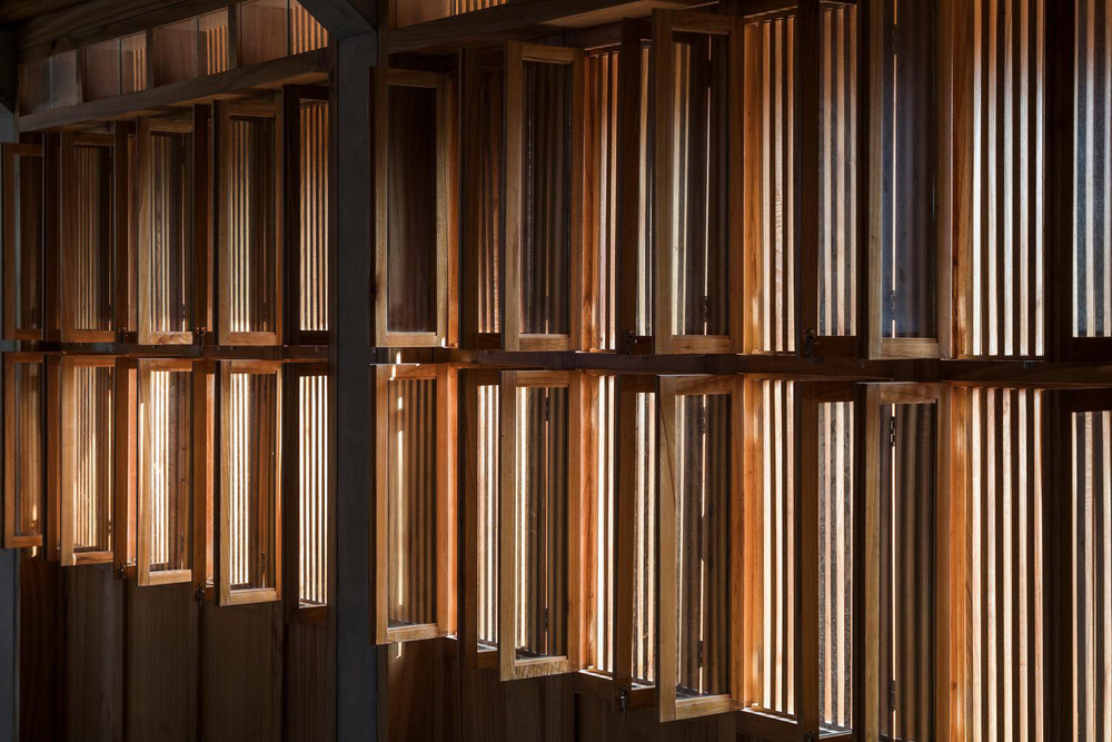 Mê mẩn với nhà gạch gỗ xoan nhiều cửa ở Phú Thọ - Ảnh 14.