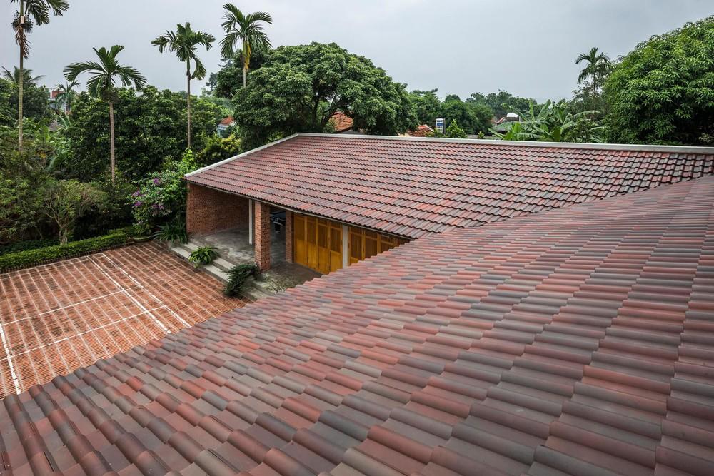 Mê mẩn với nhà gạch gỗ xoan nhiều cửa ở Phú Thọ - Ảnh 8.