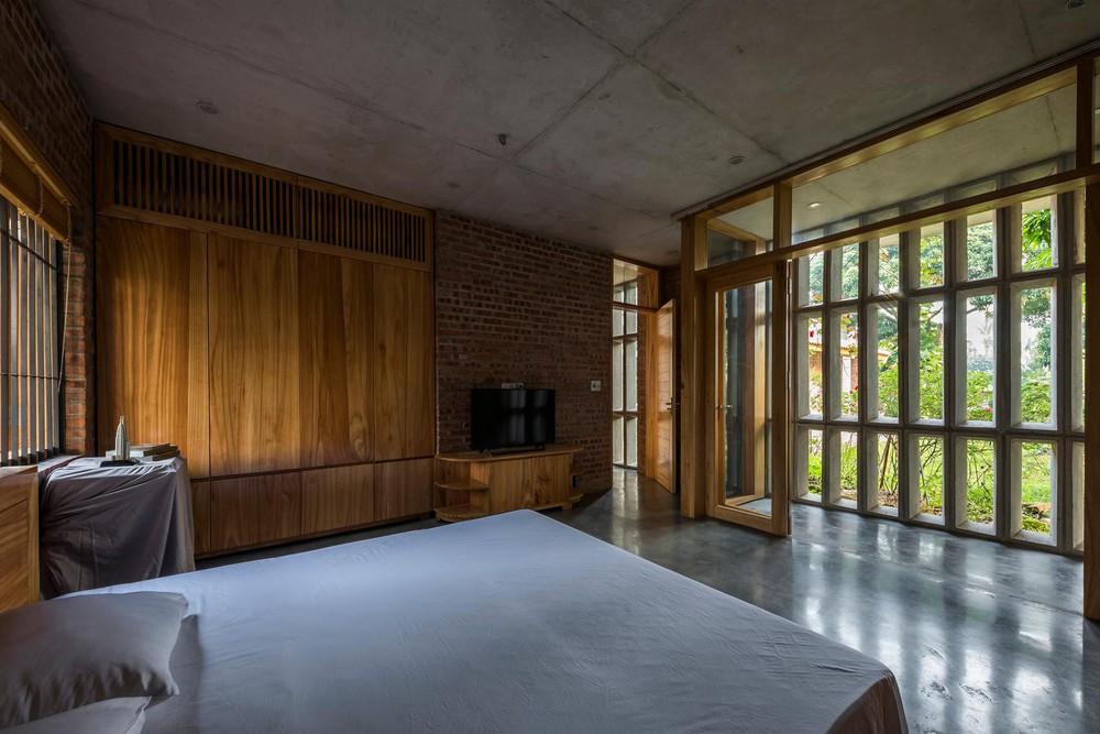 Mê mẩn với nhà gạch gỗ xoan nhiều cửa ở Phú Thọ - Ảnh 10.