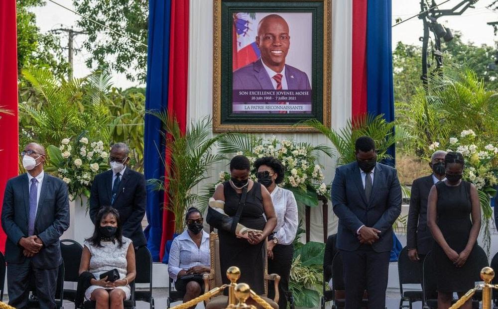 """""""Chúng nghĩ tôi đã chết"""": Góa phụ của Tổng thống Haiti kể về đêm kinh hoàng, mong FBI vào cuộc"""