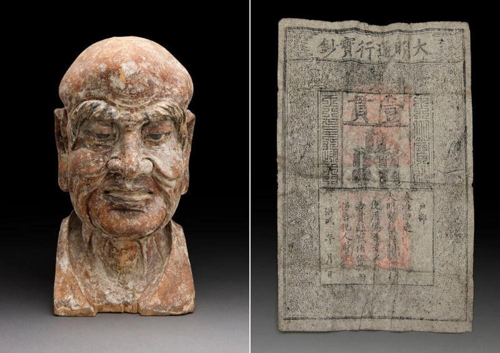 Lau chùi bức tượng La hán, nhà sưu tập phát hiện bí mật giấu kín bên trong: 700 năm trước nam tử hán cũng... sợ vợ? - Ảnh 2.