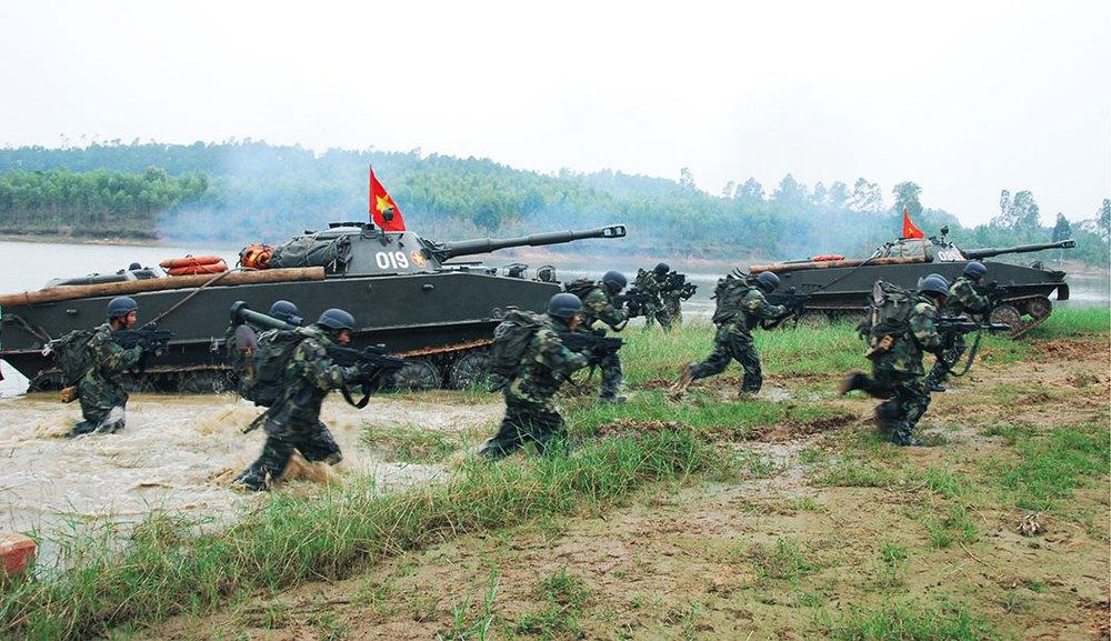 Vũ khí mới độc đáo bậc nhất TG của Hải quân đánh bộ Việt Nam: Tiến thẳng lên hiện đại - Ảnh 3.
