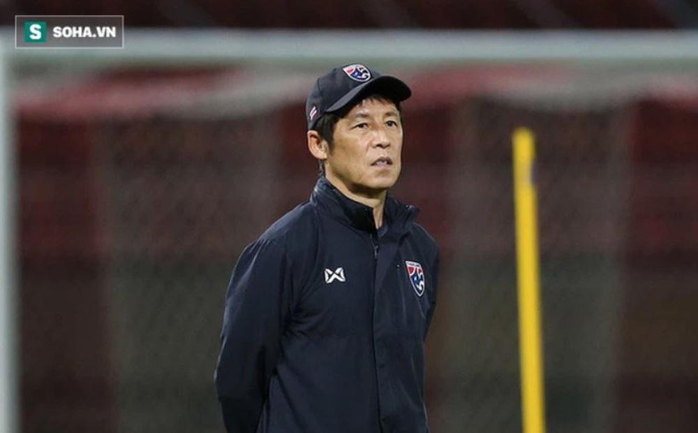 """Đứng trước nguy cơ """"bay ghế"""", HLV Nishino vẫn tuyên bố mục tiêu World Cup với ĐT Thái Lan"""