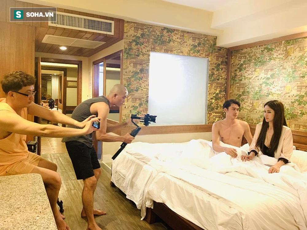 Hoàng Mập kể chuyện quay phim ở Thái Lan: 2 lần bị cảnh sát hỏi thăm, lộ mối tình chị em trong đoàn - Ảnh 7.
