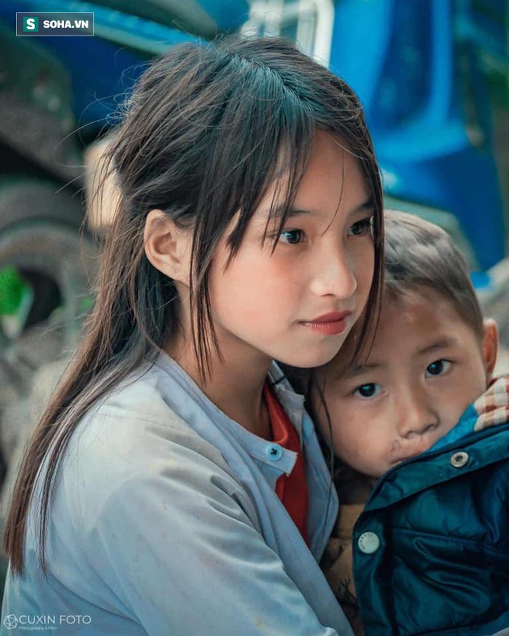 Em gái Hà Giang sở hữu nhan sắc cực nét khiến dân mạng tới tấp khen ngợi: Hoa của đá - Ảnh 1.