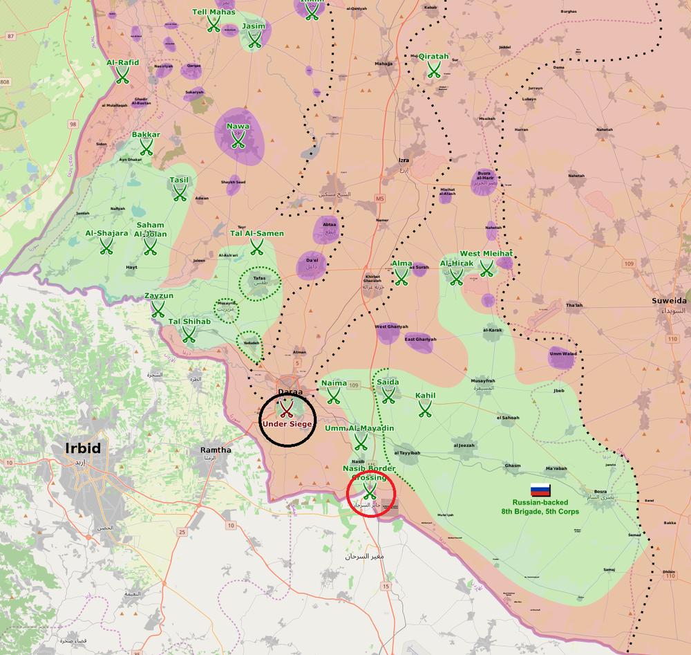 Được Mỹ bật đèn xanh, Jordan tung đòn hiểm giữa lúc phiến quân bị vây khốn ở nam Syria? - Ảnh 6.