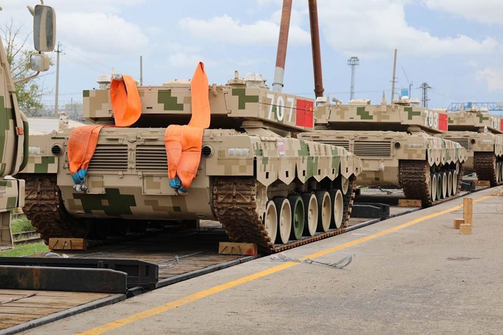 Đội tuyển Trung Quốc mang thiết bị quân sự đến Nga dự Army Games 2021 - Ảnh 3.