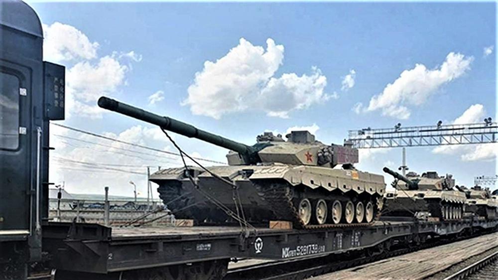 Đội tuyển Trung Quốc mang thiết bị quân sự đến Nga dự Army Games 2021 - Ảnh 1.