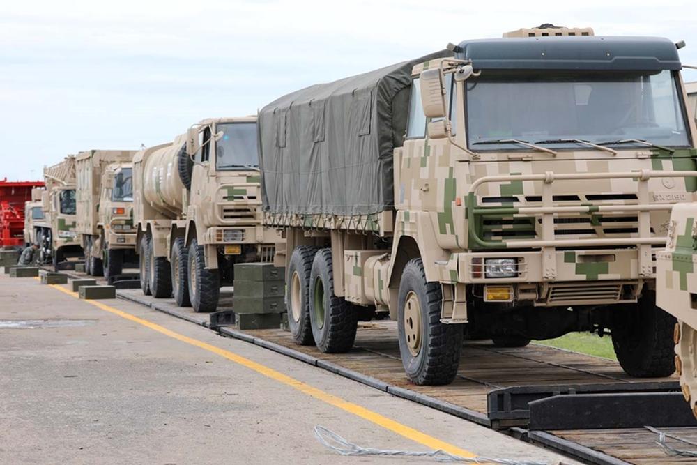 Đội tuyển Trung Quốc mang thiết bị quân sự đến Nga dự Army Games 2021 - Ảnh 2.