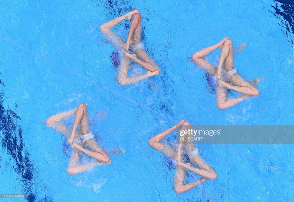 Những bức ảnh độc đáo chỉ có tại Olympic Tokyo 2020 - Ảnh 2.