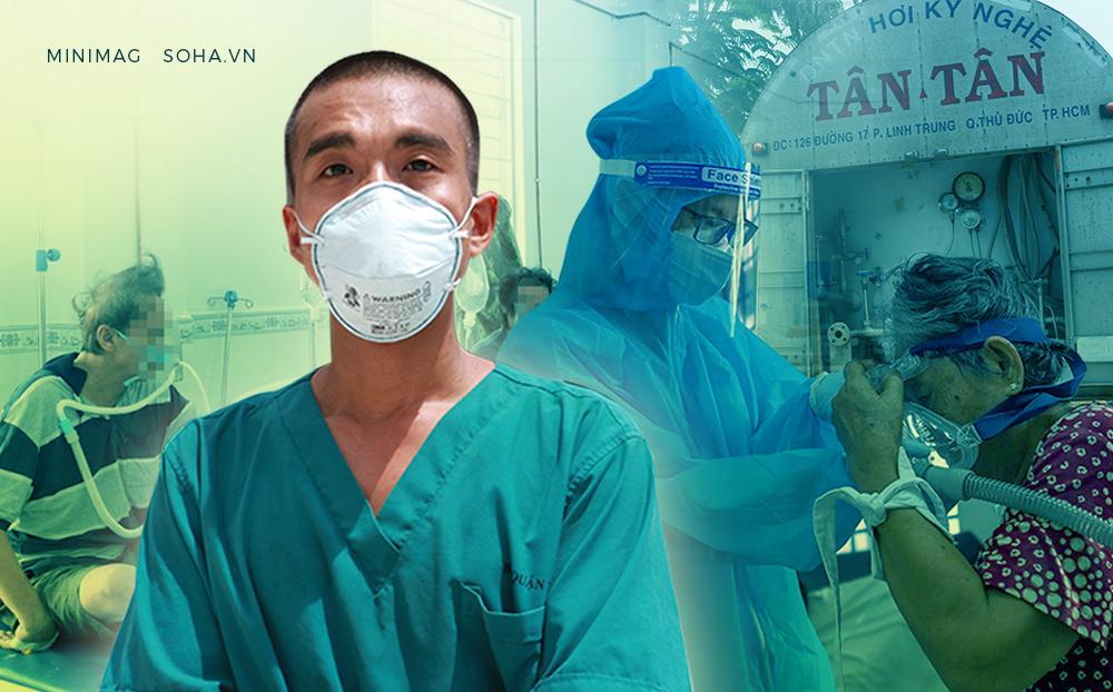 Bác sĩ hồi sức sáng kiến ra bồn chứa 32 tấn oxy cứu F0:Cả khi ngủ, tôi vẫn liên tục nghe tiếng máy thở vang trong đầu! - Ảnh 1.