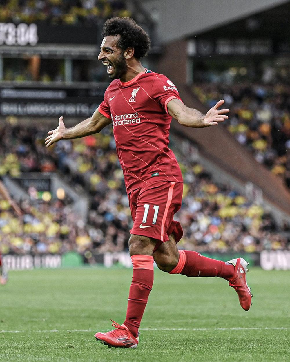 Salah lập kỷ lục vô tiền khoáng hậu ở Ngoại hạng Anh - Ảnh 1.