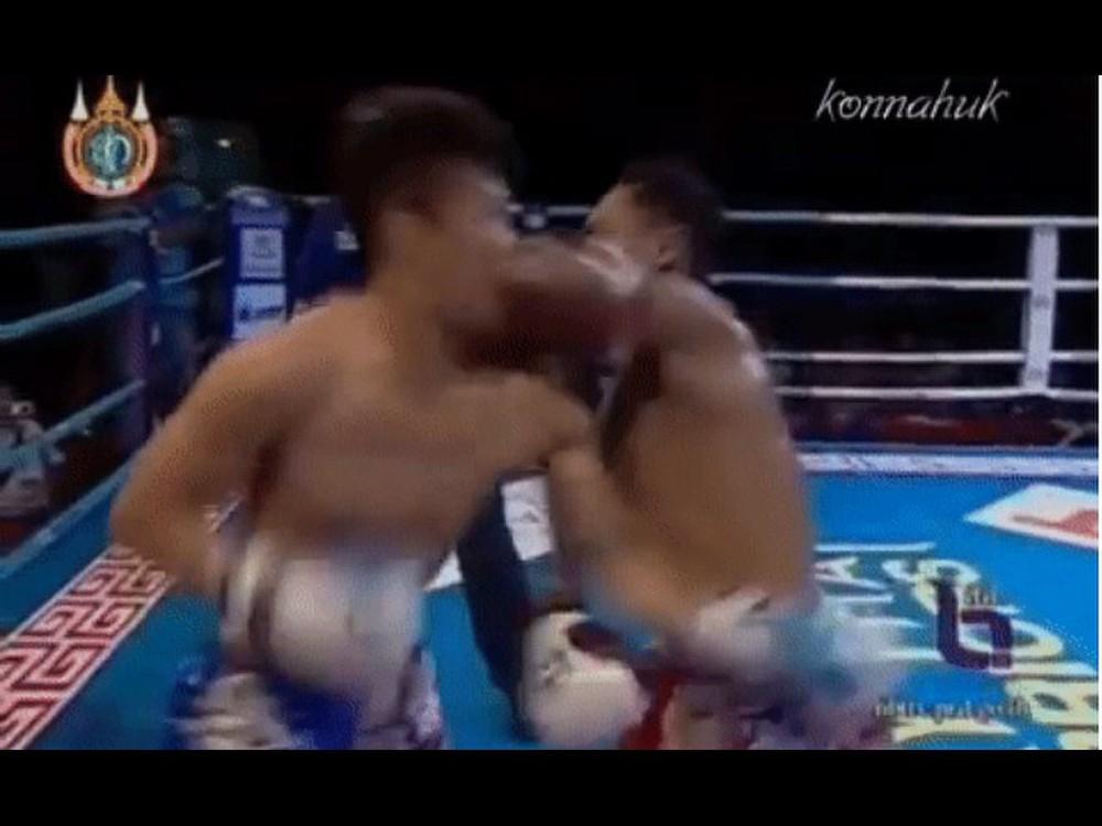 """Tung cú chỏ thần sầu, """"Vua Muay Thái"""" làm đấu sĩ Trung Quốc ngất xỉu bẽ bàng trên sân nhà - Ảnh 2."""