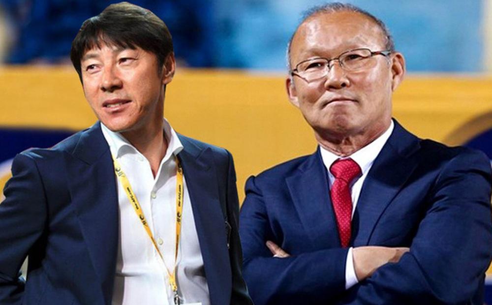 """Chứng kiến thầy Park có dàn trợ thủ hùng hậu, báo Indo thốt lên: """"HLV của chúng ta quá bất hạnh"""""""