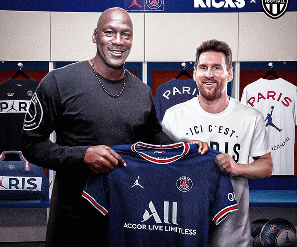 Michael Jordan ăn nên làm ra nhờ sự gia nhập của Lionel Messi ở PSG - Ảnh 1.