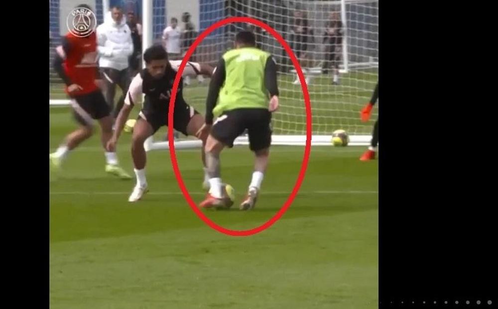 7 triệu lượt xem Messi thể hiện đẳng cấp, 'bón hành' cho đồng đội tại PSG