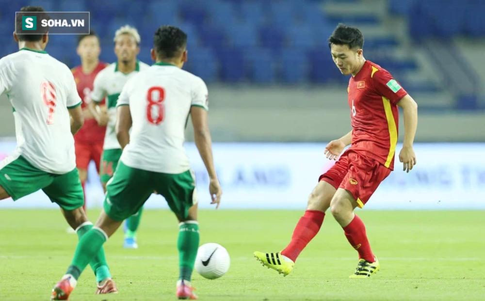 Xuân Trường đá phạt thành bàn, đội tuyển Việt Nam thắng liền 2 trận - Ảnh 1.