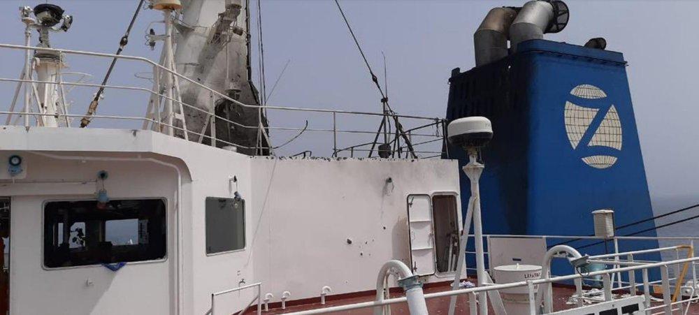 Choáng váng trước đòn tấn công tàu dầu Israel: Tiết lộ hình ảnh đầu tiên - Quá chính xác - Ảnh 4.