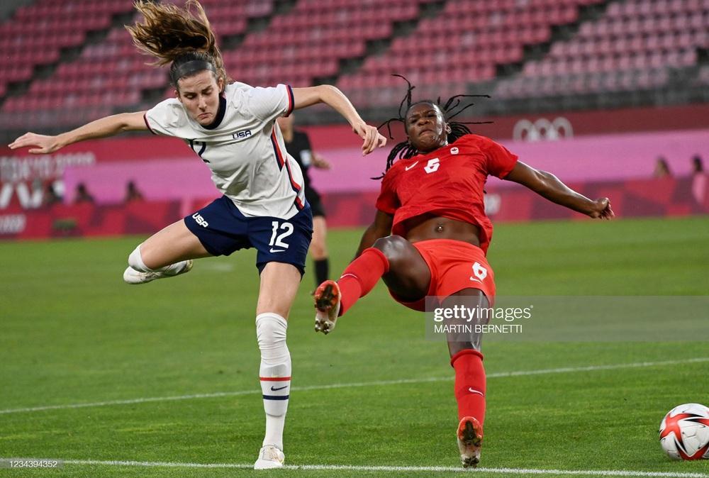 Thất bại vì quả penalty nghiệt ngã, đội tuyển Mỹ chia tay Olympic trong nước mắt - Ảnh 3.