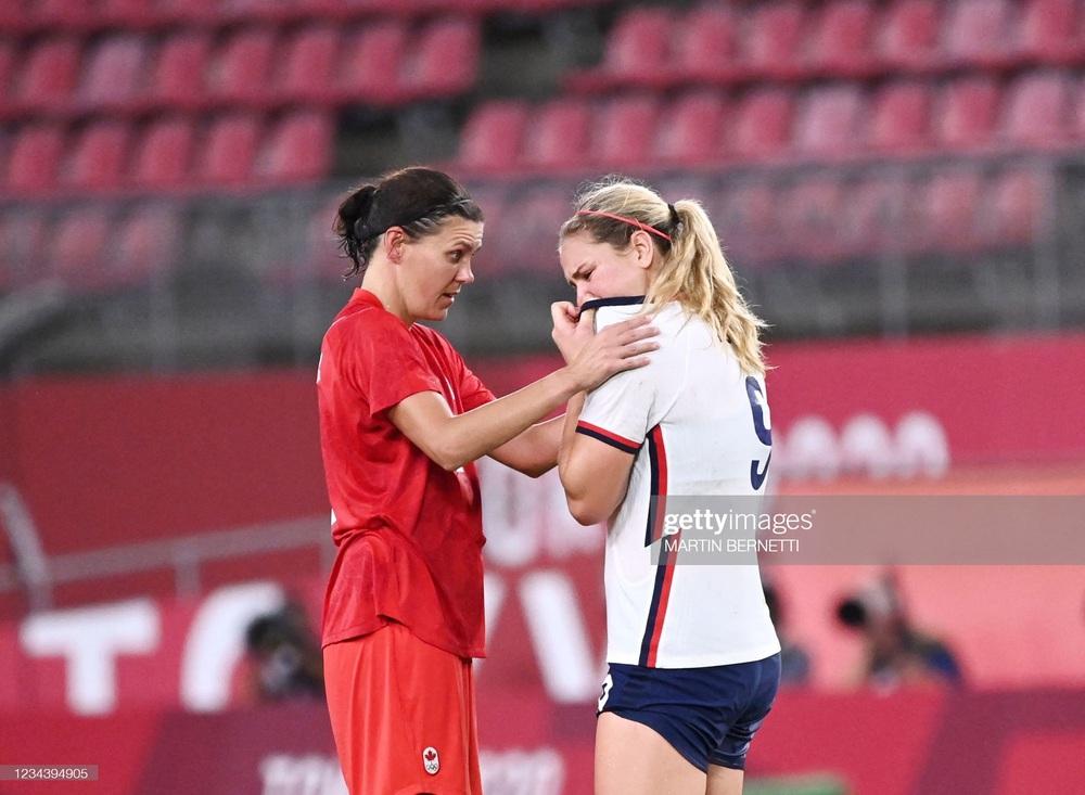 Thất bại vì quả penalty nghiệt ngã, đội tuyển Mỹ chia tay Olympic trong nước mắt - Ảnh 6.