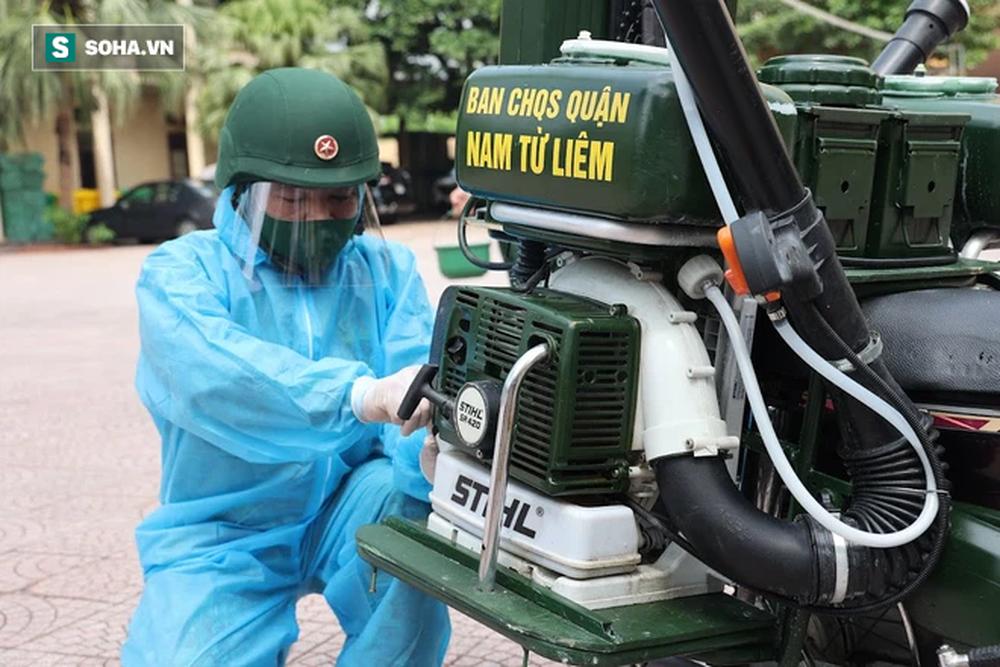 Chế tạo xe máy phun khử khuẩn lưu động, công suất tương đương sức 100 người - Ảnh 5.