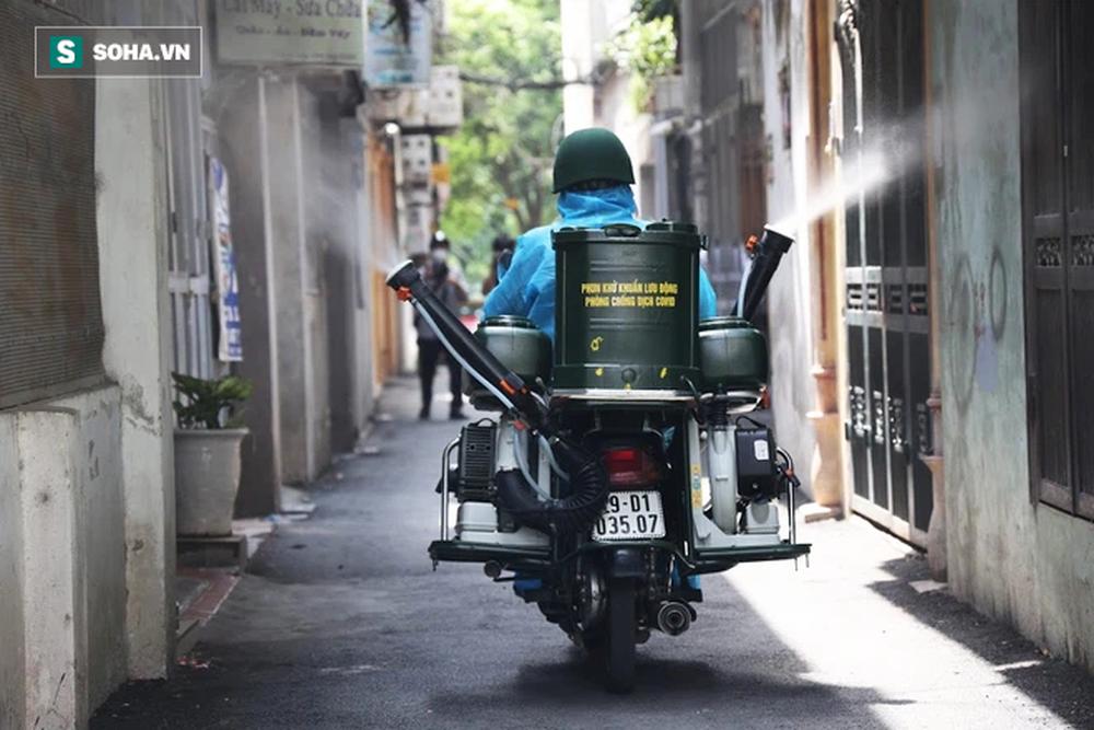 Chế tạo xe máy phun khử khuẩn lưu động, công suất tương đương sức 100 người - Ảnh 8.