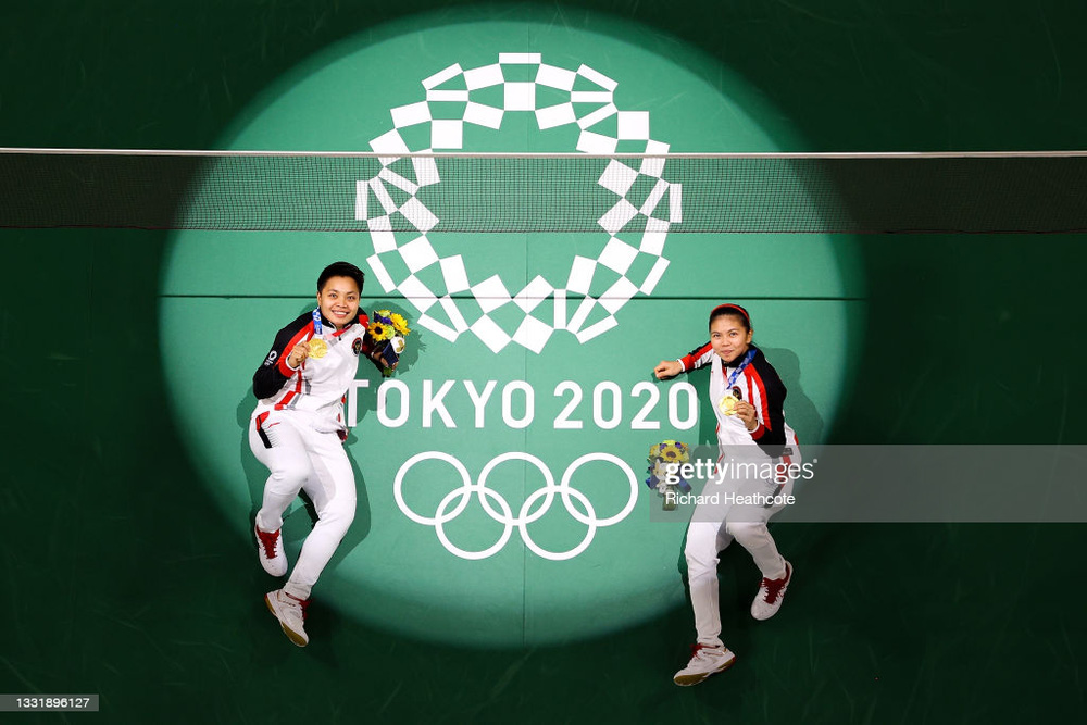 Đôi VĐV Đông Nam Á gây sốc ở Olympic, đánh bại đối thủ Trung Quốc để giành huy chương vàng - Ảnh 4.