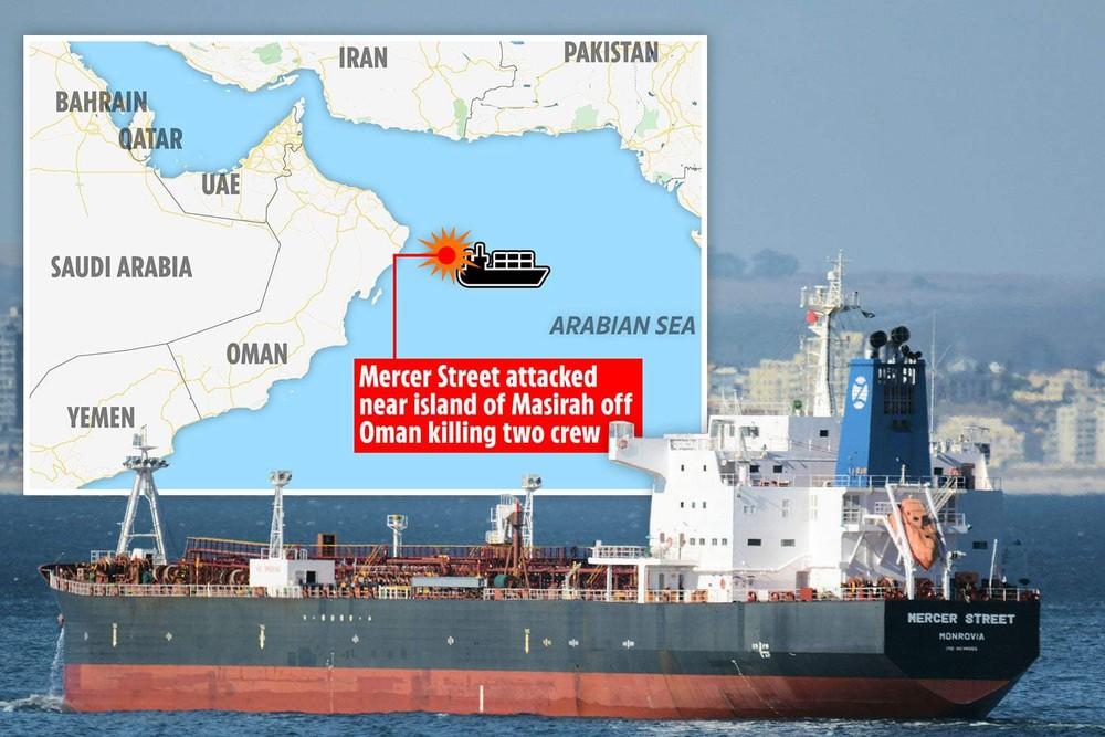 Choáng váng trước đòn tấn công tàu dầu Israel: Tiết lộ hình ảnh đầu tiên - Quá chính xác - Ảnh 1.